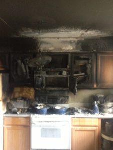 Kitchen Fire1